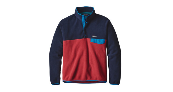 Patagonia Leightweight Synch Snap-T sweater Heren rood